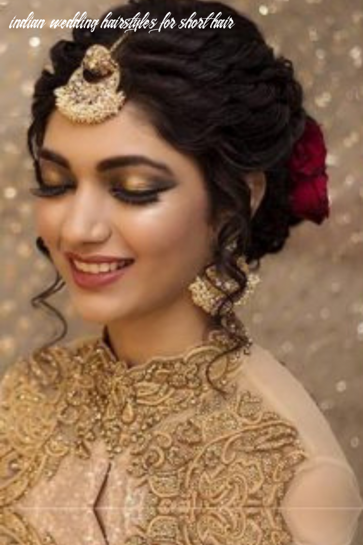 Trending indian wedding hairstyles for your stunning look | short
