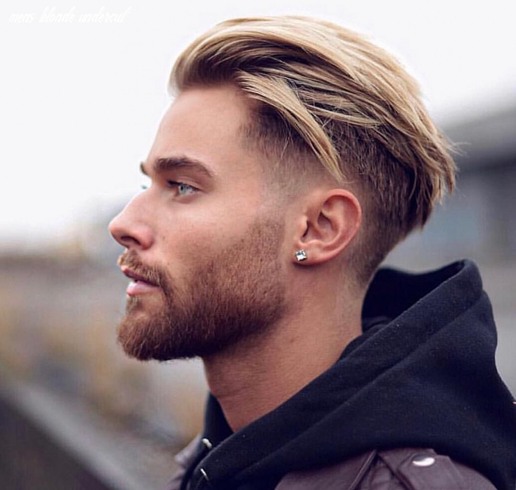 Trendy hairstyles for men with blonde hair color | trendy mens