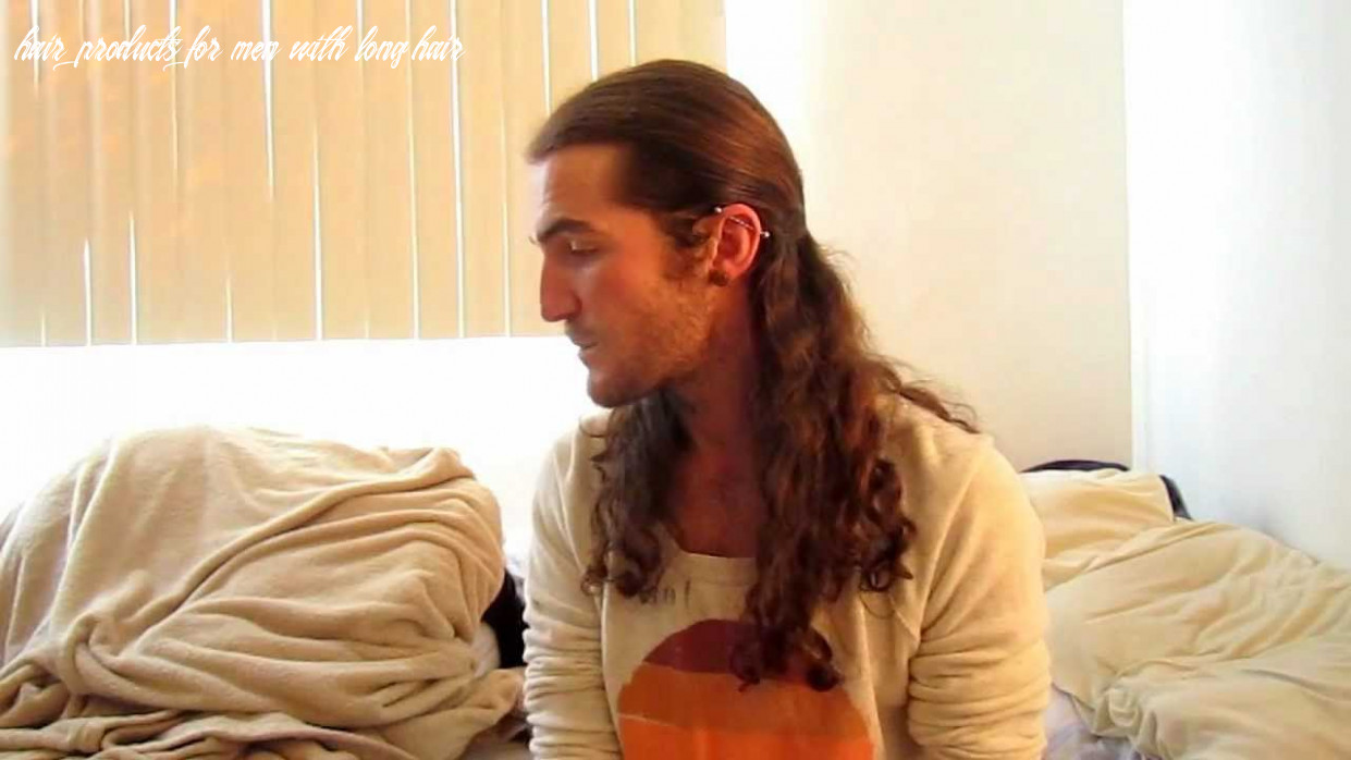 Tutorial: long hair products for men