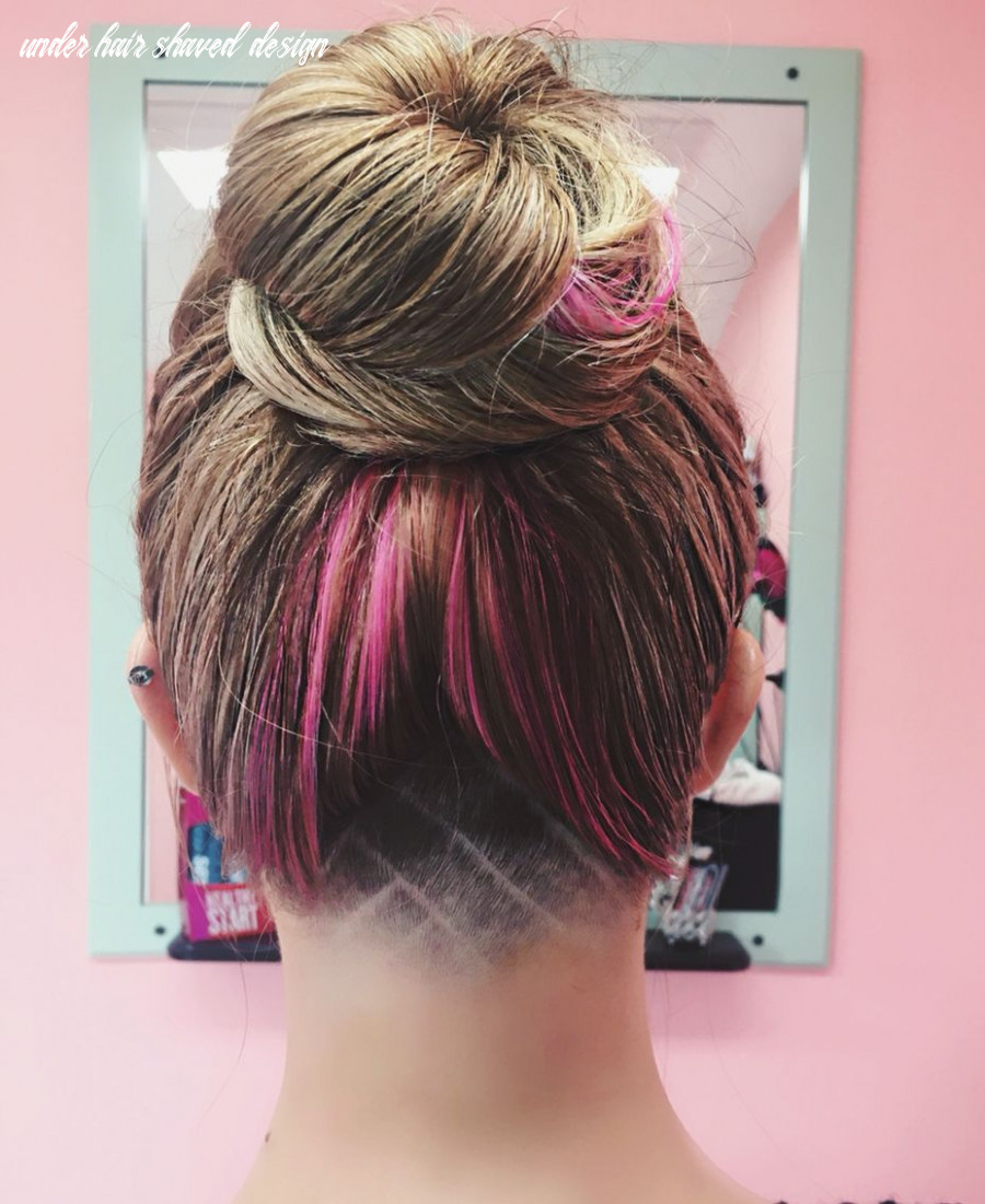 Undercut design. Hairstyle | Undercut long hair, Undercut ...