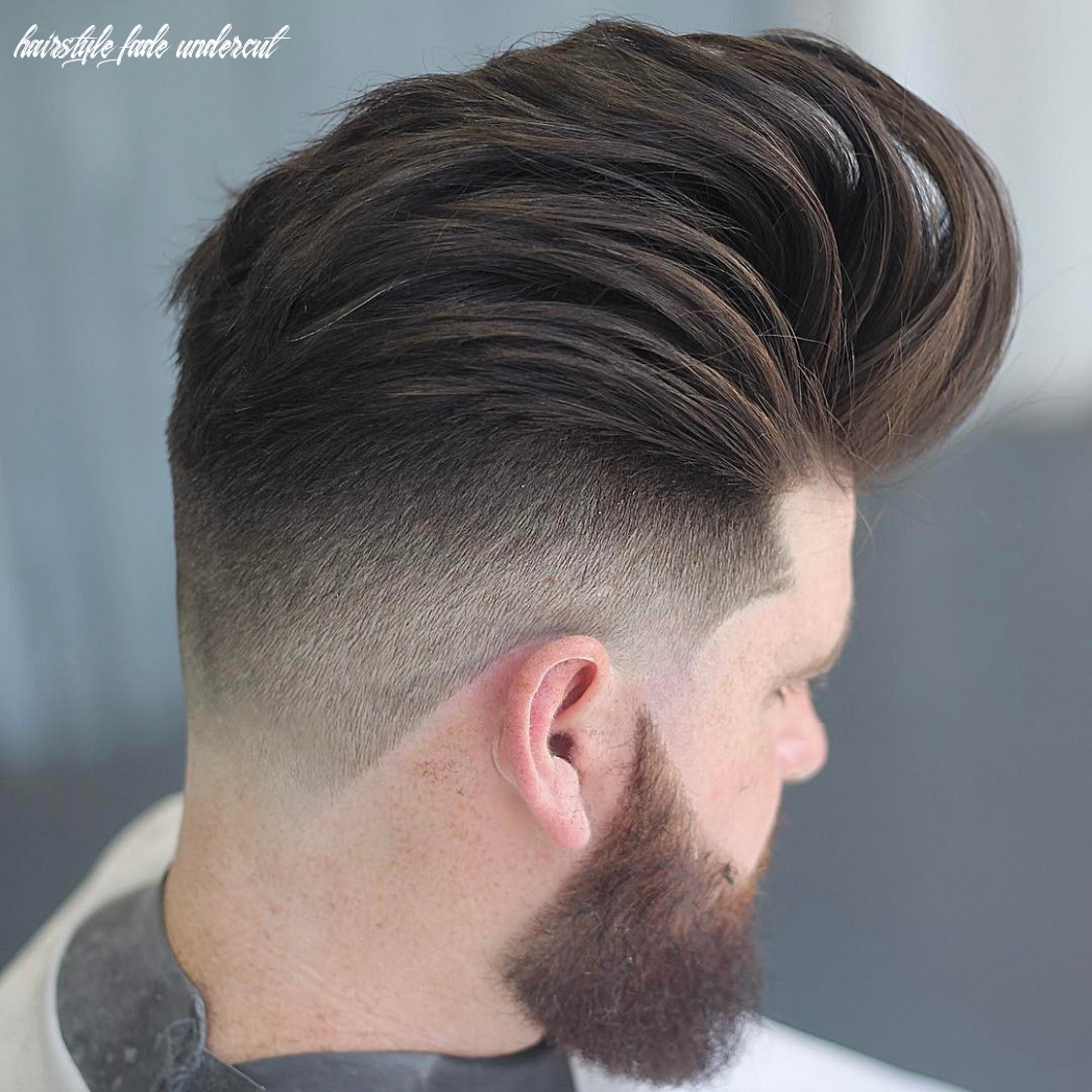 Undercut fade haircuts hairstyles for men (10 styles) hairstyle fade undercut