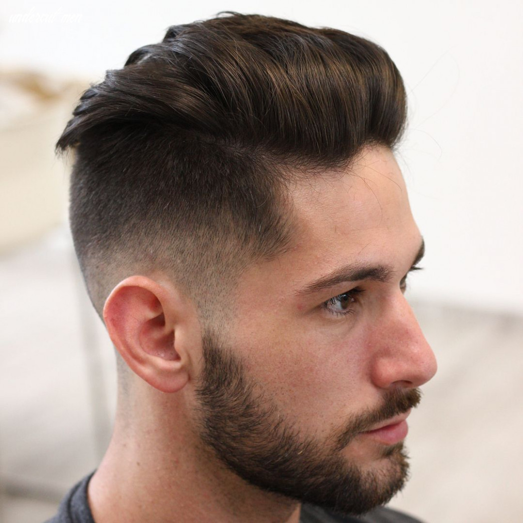 Undercut fade haircuts hairstyles for men (8 styles