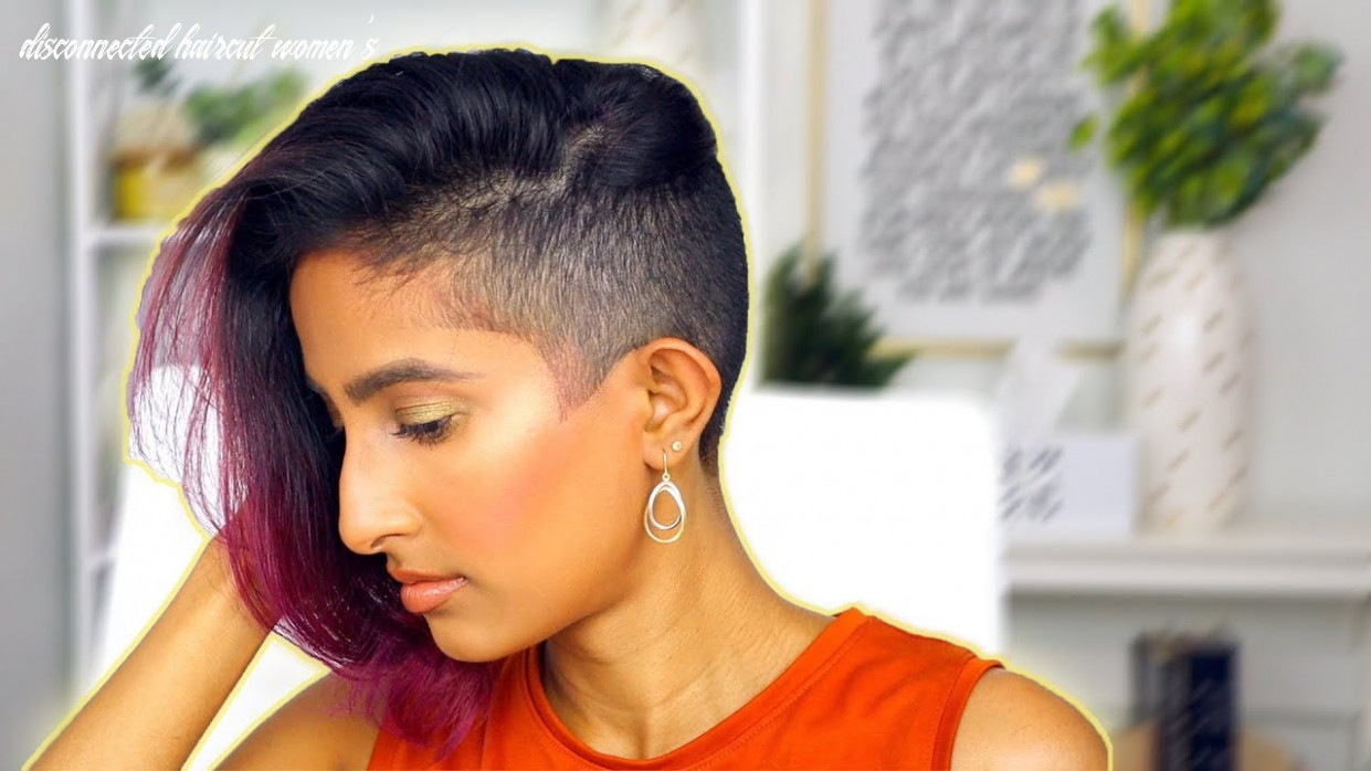 Undercut Haircut for Women | Disconnected Undercut | Fade Undercut | how to  talk to your barber
