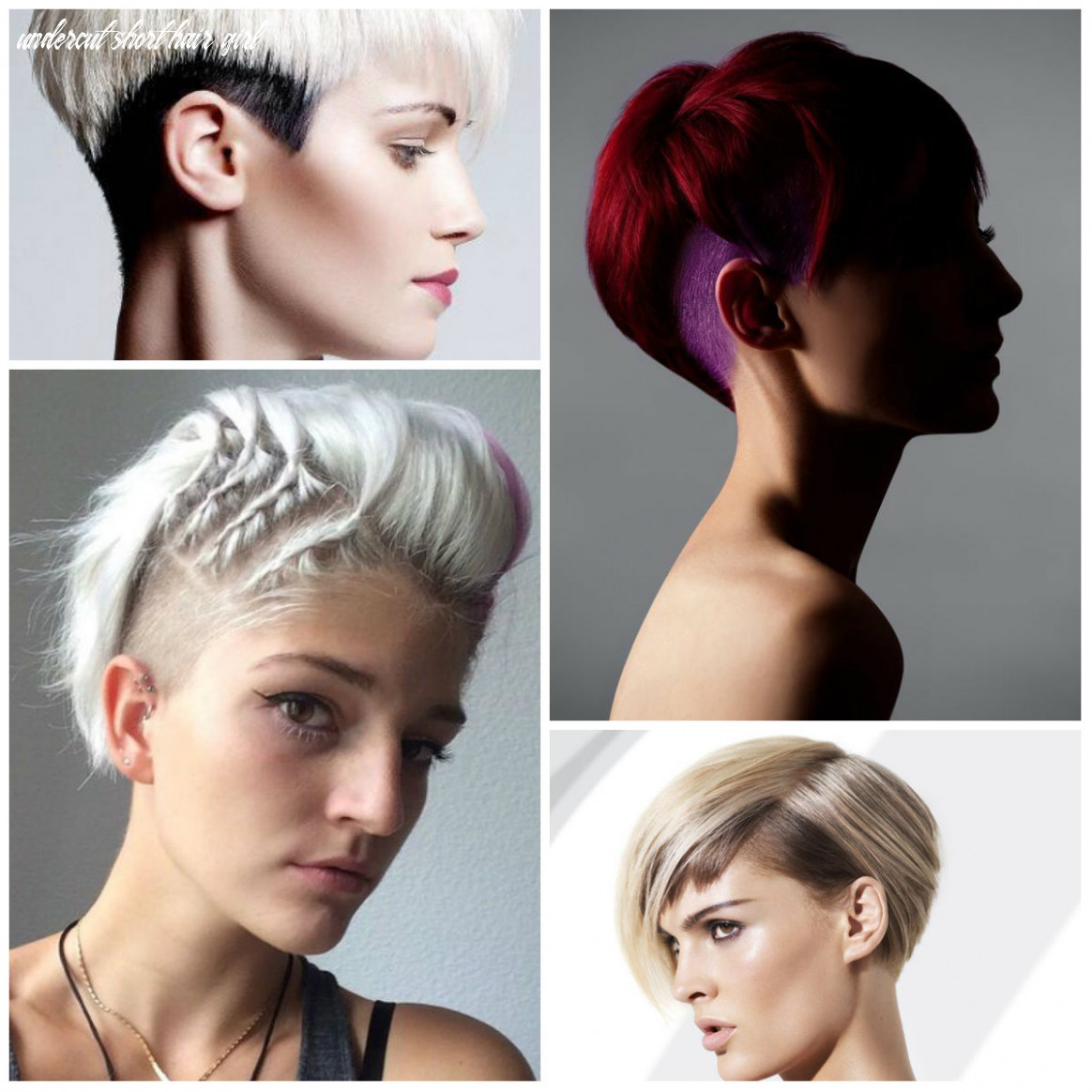 Unique short undercuts for women 8 hairstyleto undercut short hair girl