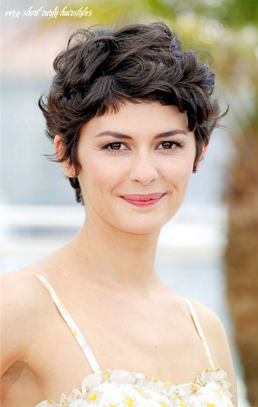 Very short curly hairstyles curly pixie haircut – curly short
