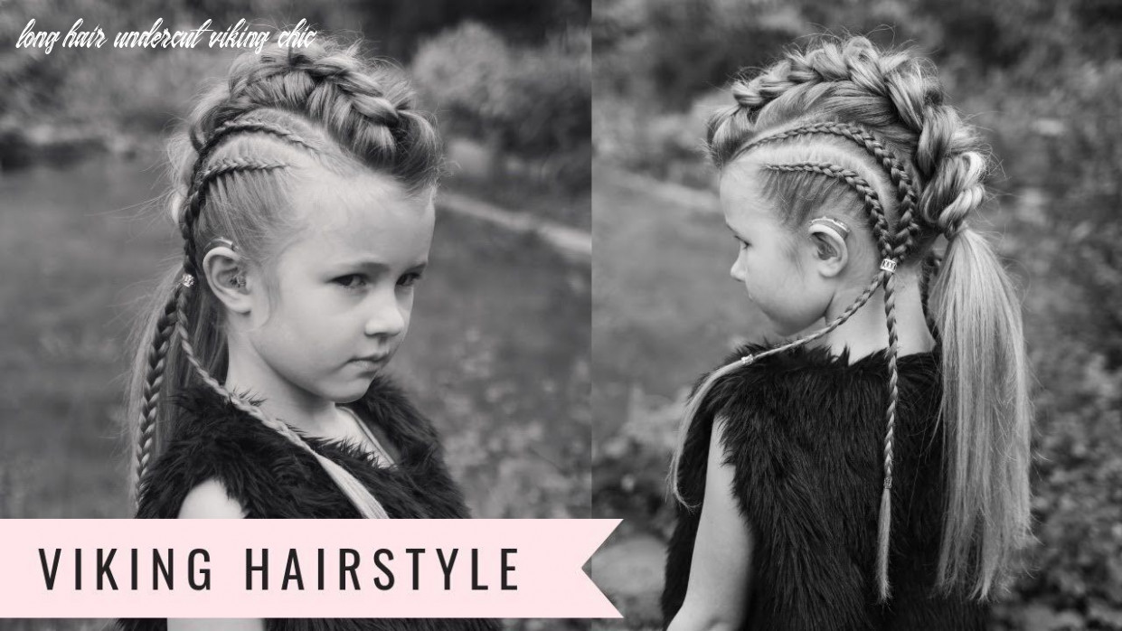 Viking hairstyle! baylee the brave by sweethearts hair youtube