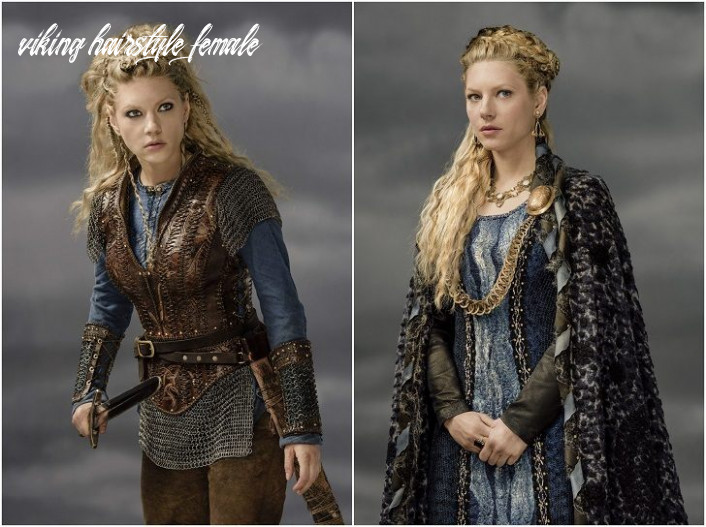 Viking hairstyles for women with long hair – it's all about braids!