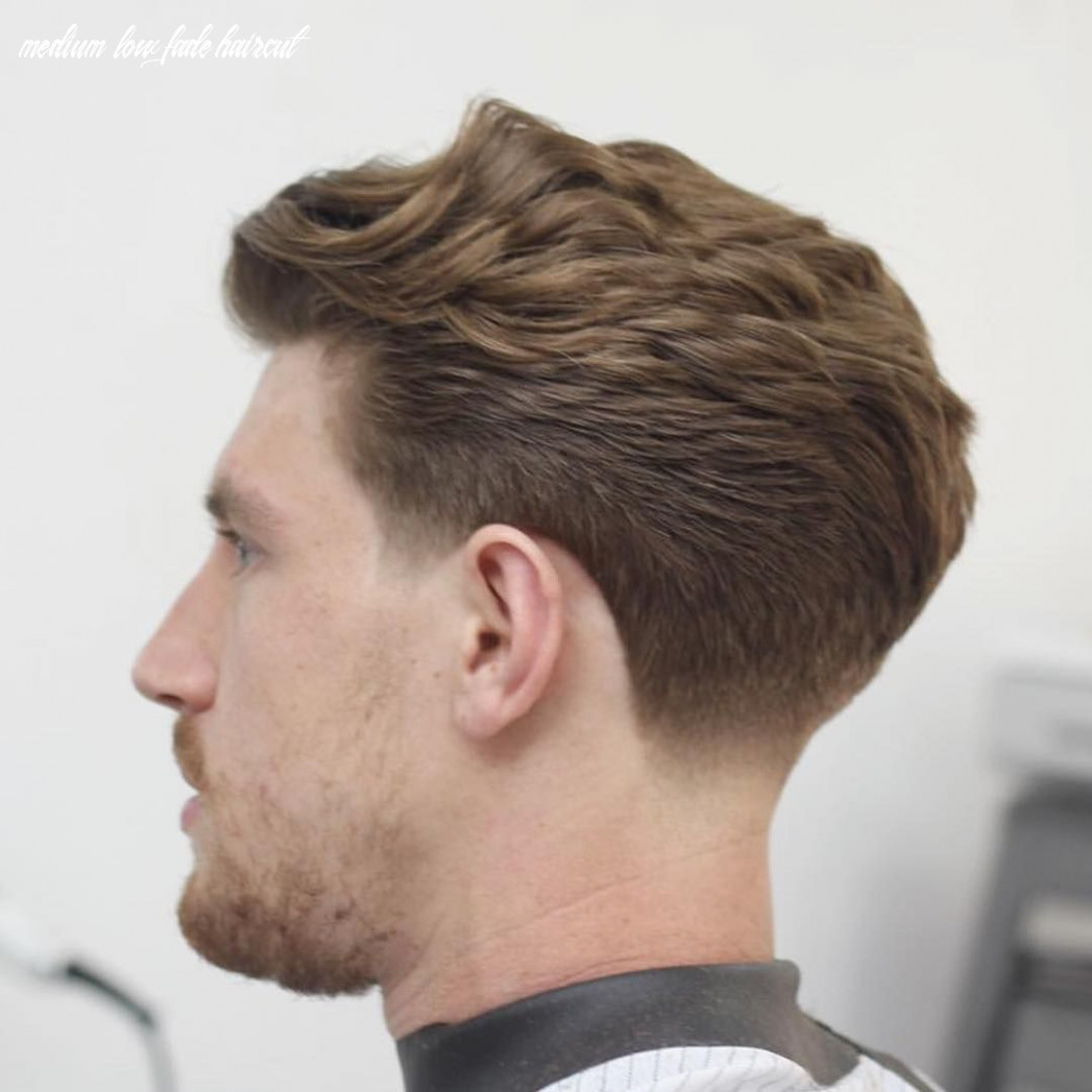 Wavy Back With Taper Fade | Low fade haircut, Fade haircut, Taper ...