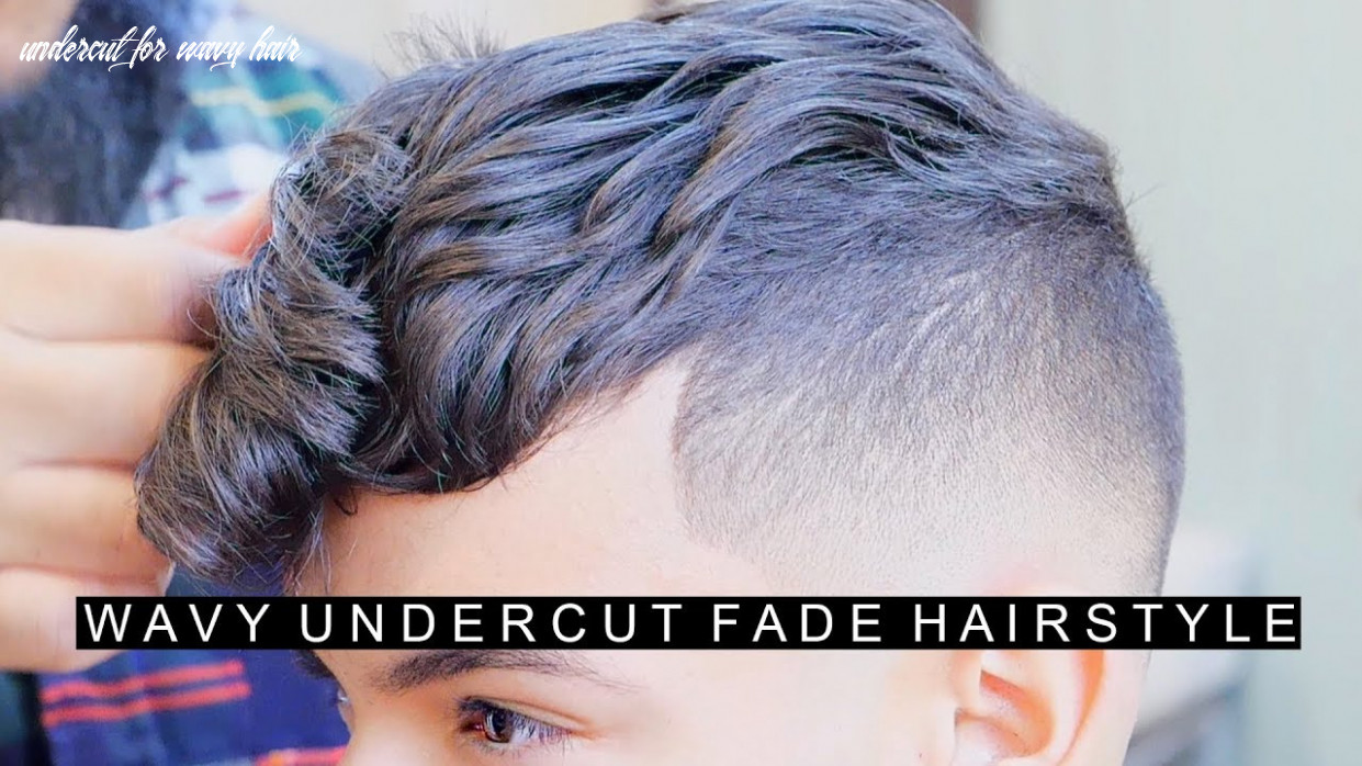 Wavy undercut hairstyle for men with curly hair | cool fade hairstyle | new hairstyle for men undercut for wavy hair
