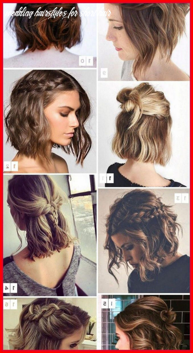 Wedding hairstyles for short hair updos (mit bildern) | kurze