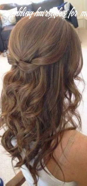 Wedding Hairstyles Medium Length Updo Simple Half Up 11 Ideas ...
