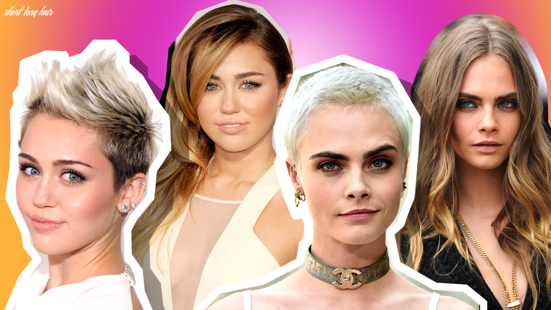 What Celebs Look Like With Short and Long Hair | StyleCaster