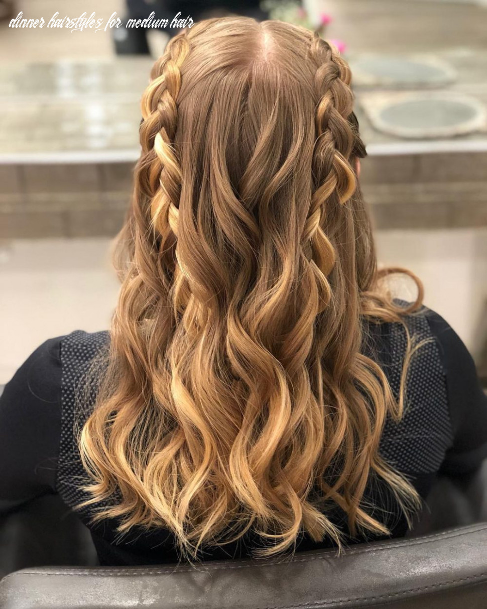 Wonderful medium length hairstyles for cocktail party hairstyles