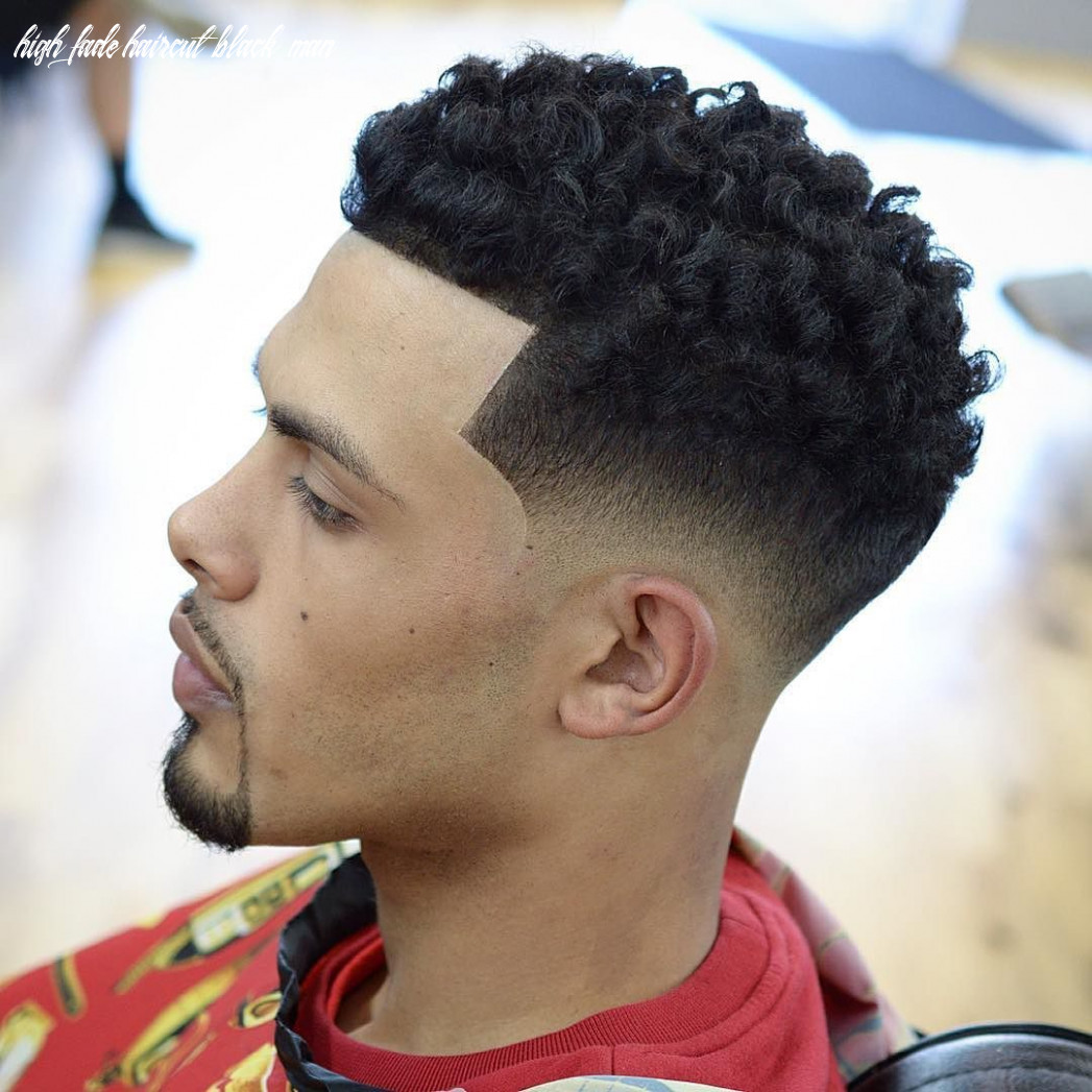 10 / 10 | curly hair fade, mens haircuts fade, mens hairstyles