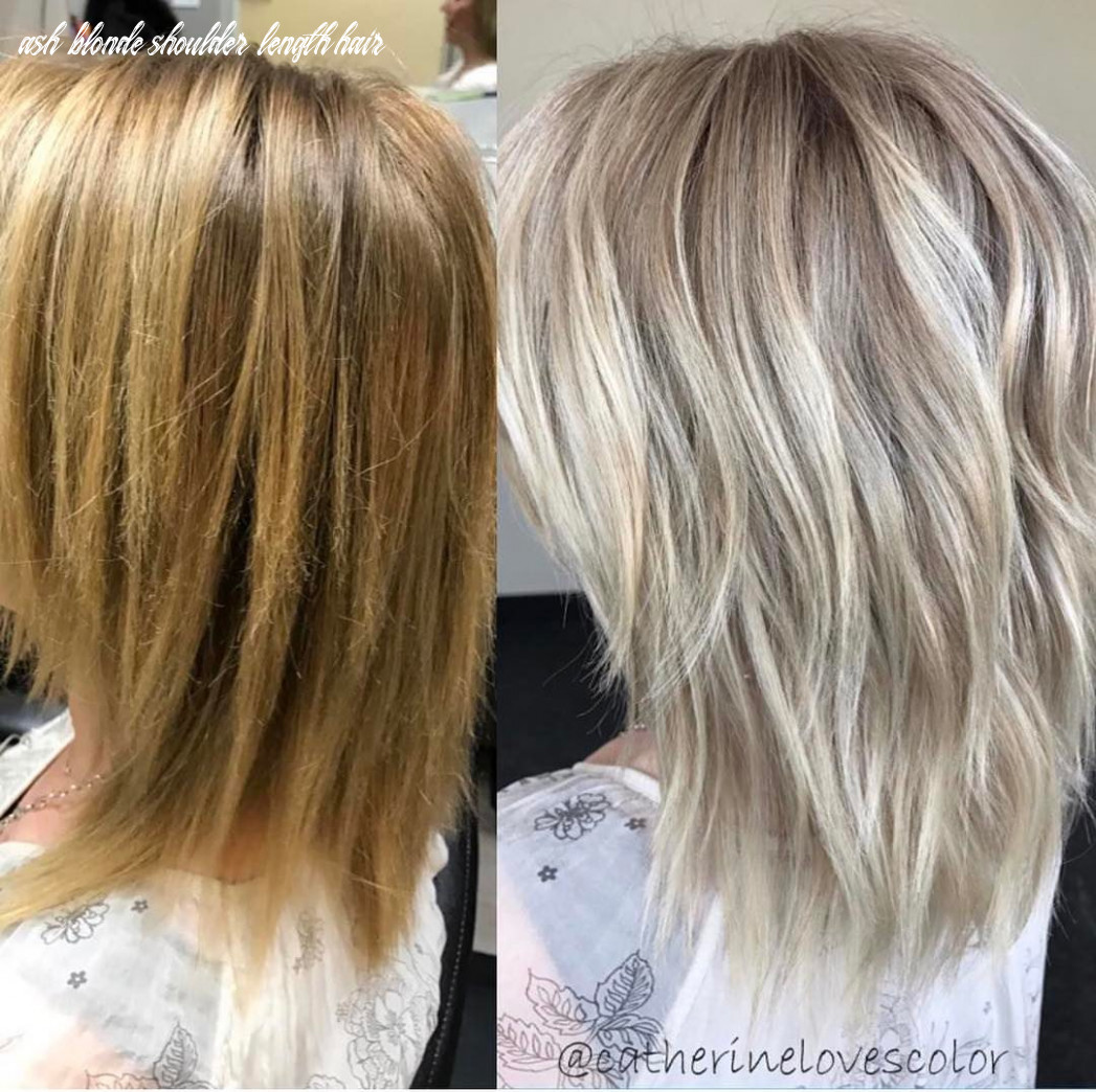 10 adorable ashes blonde hairstyles to try on hairstyleto ash blonde shoulder length hair
