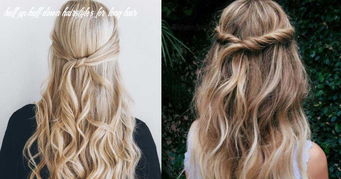 10 amazing half up half down hairstyles for long hair the goddess half up half down hairstyles for long hair