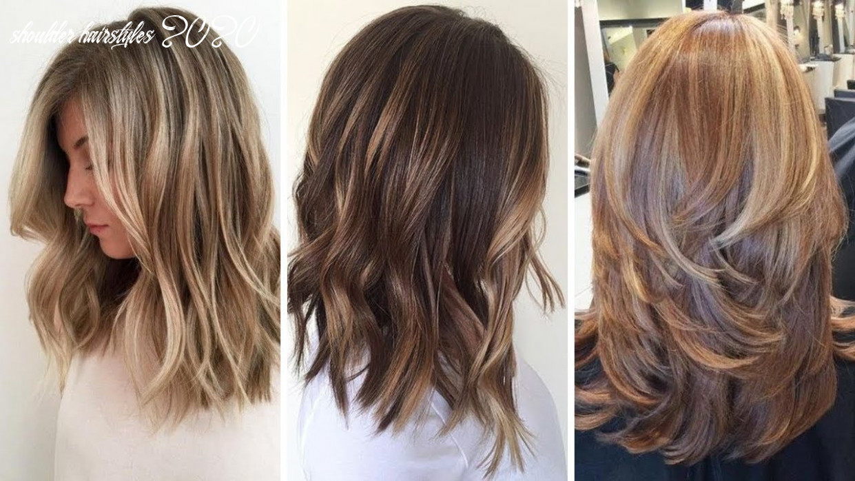10 amazing medium hairstyles for ladies, beautiful haircuts for women 10 shoulder hairstyles 2020