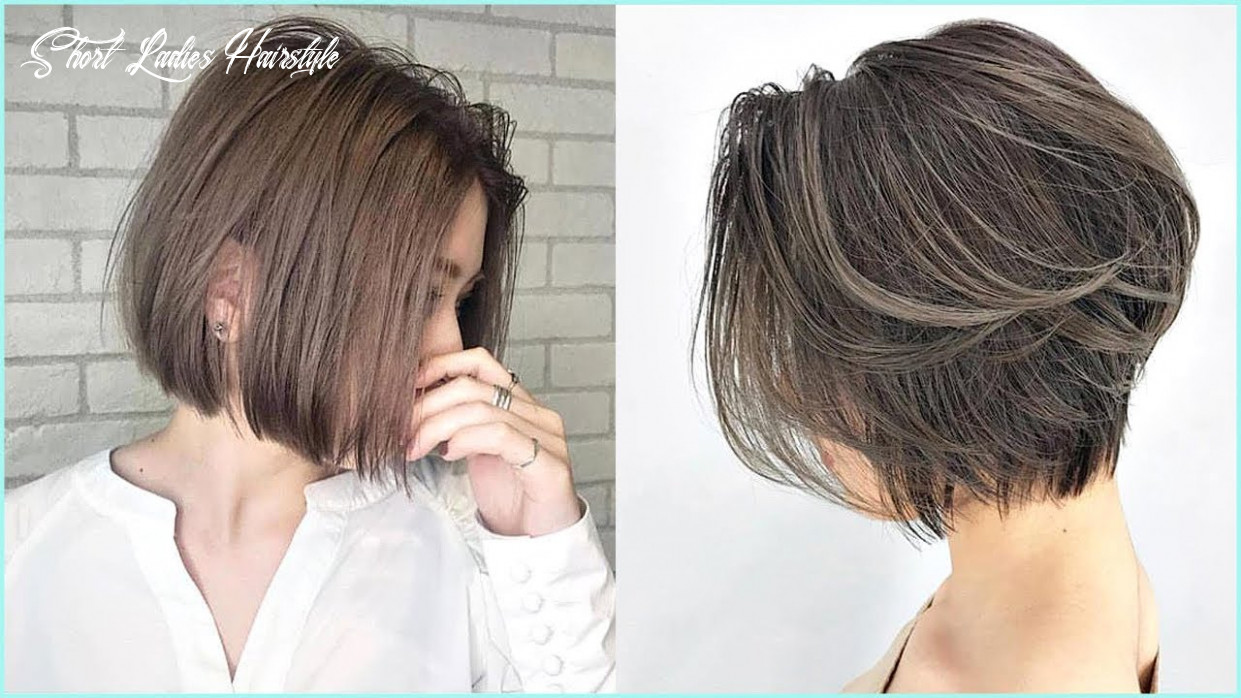 10 amazing short haircut for women 😍professional haircut #10 short ladies hairstyle