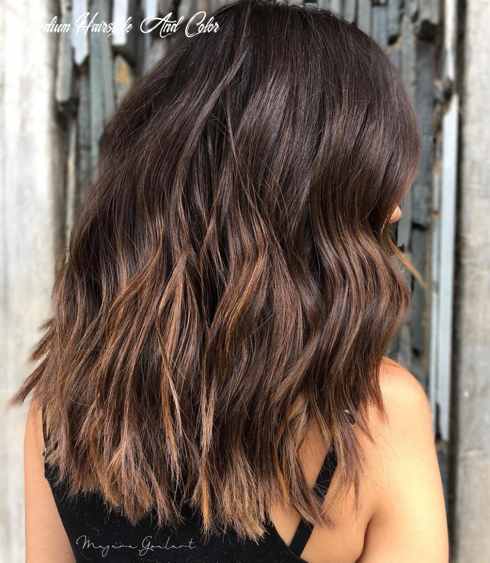 10 astonishing chocolate brown hair ideas for 10 hair adviser medium hairstyle and color