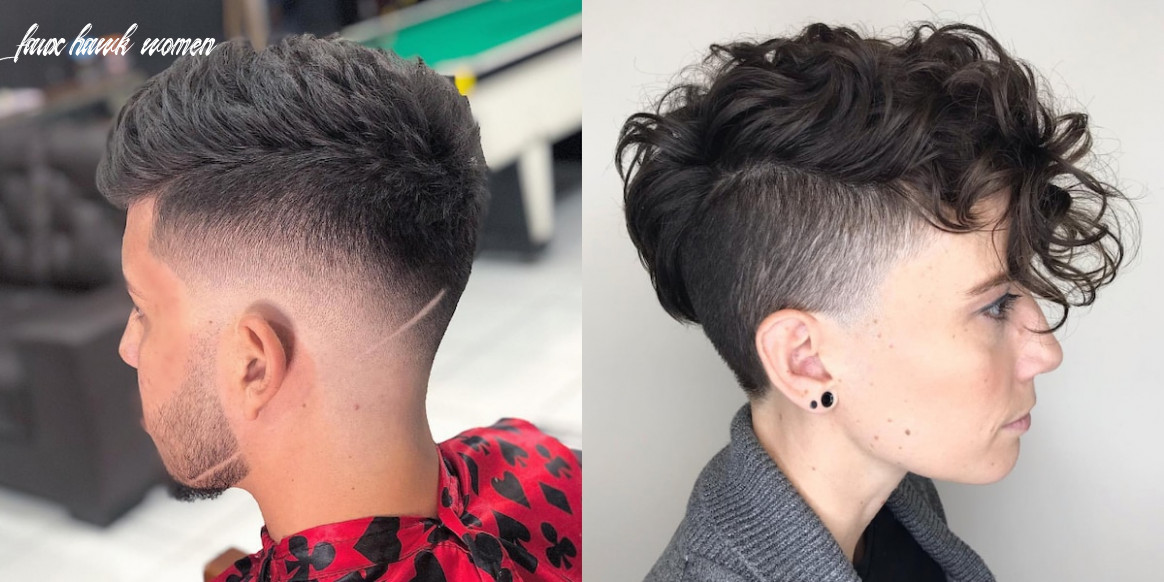 10 awesome faux hawk hairstyle ideas for men and women ▷ legit