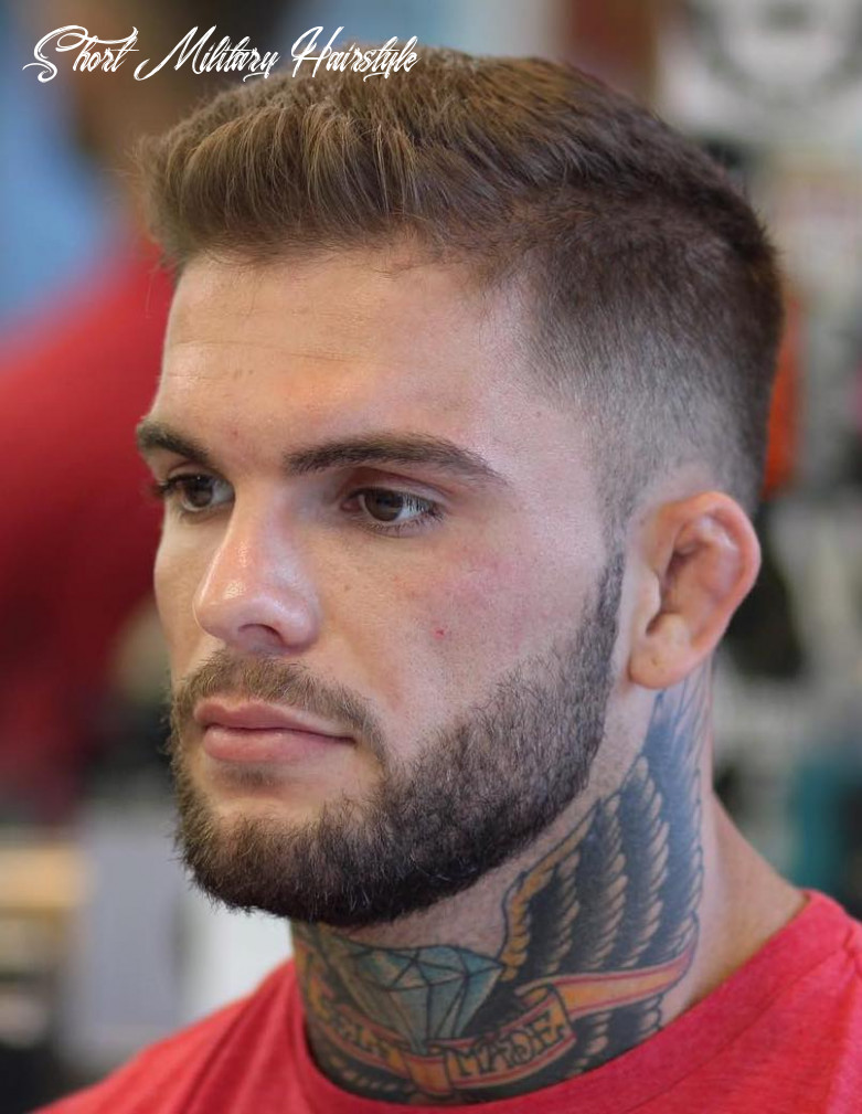 10 awesome military haircuts for men short military hairstyle