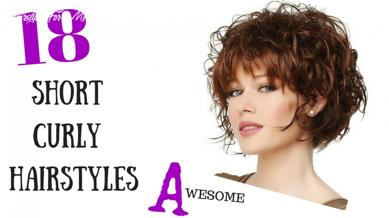 10 Awesome Short Curly Hair Styles 10 - YouTube