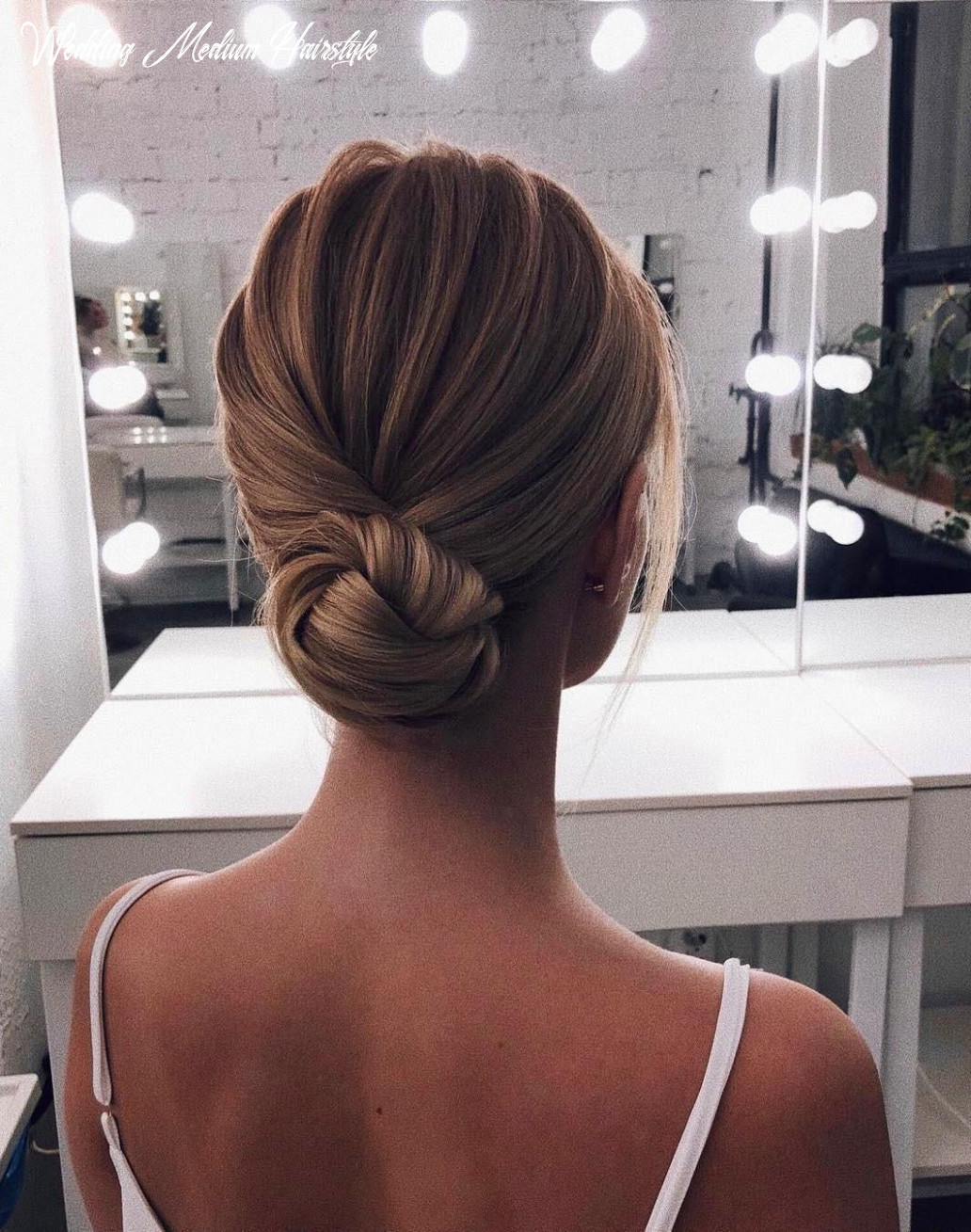 10 beautiful wedding hairstyles for medium length hair in 10