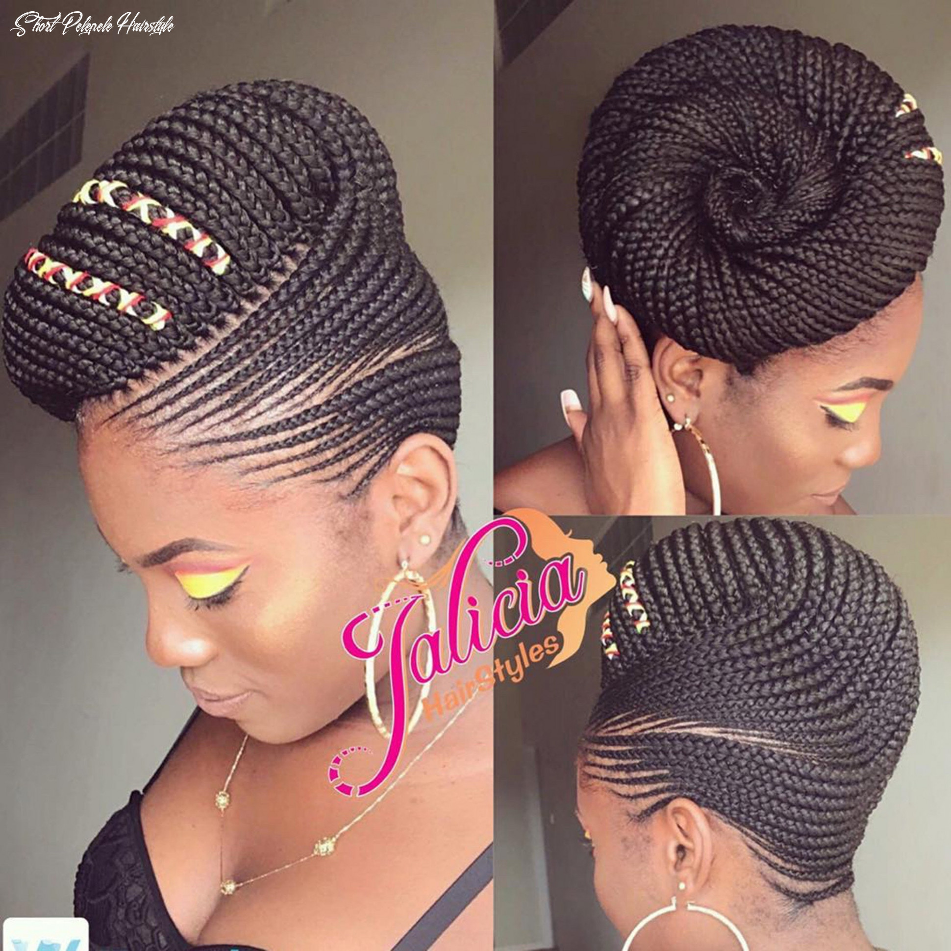 10 best black braided hairstyles to try in 10   allure short pelepele hairstyle