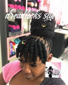 10 best dreads styles for women images in 10 | dreads styles