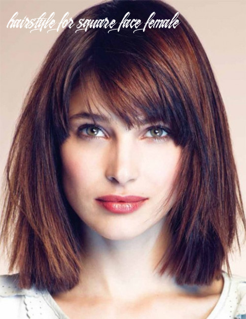 10 best hairstyles for square faces rounding the angles hairstyle for square face female