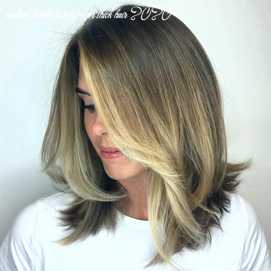 10 best medium length hairstyles for thick hair to try in 10