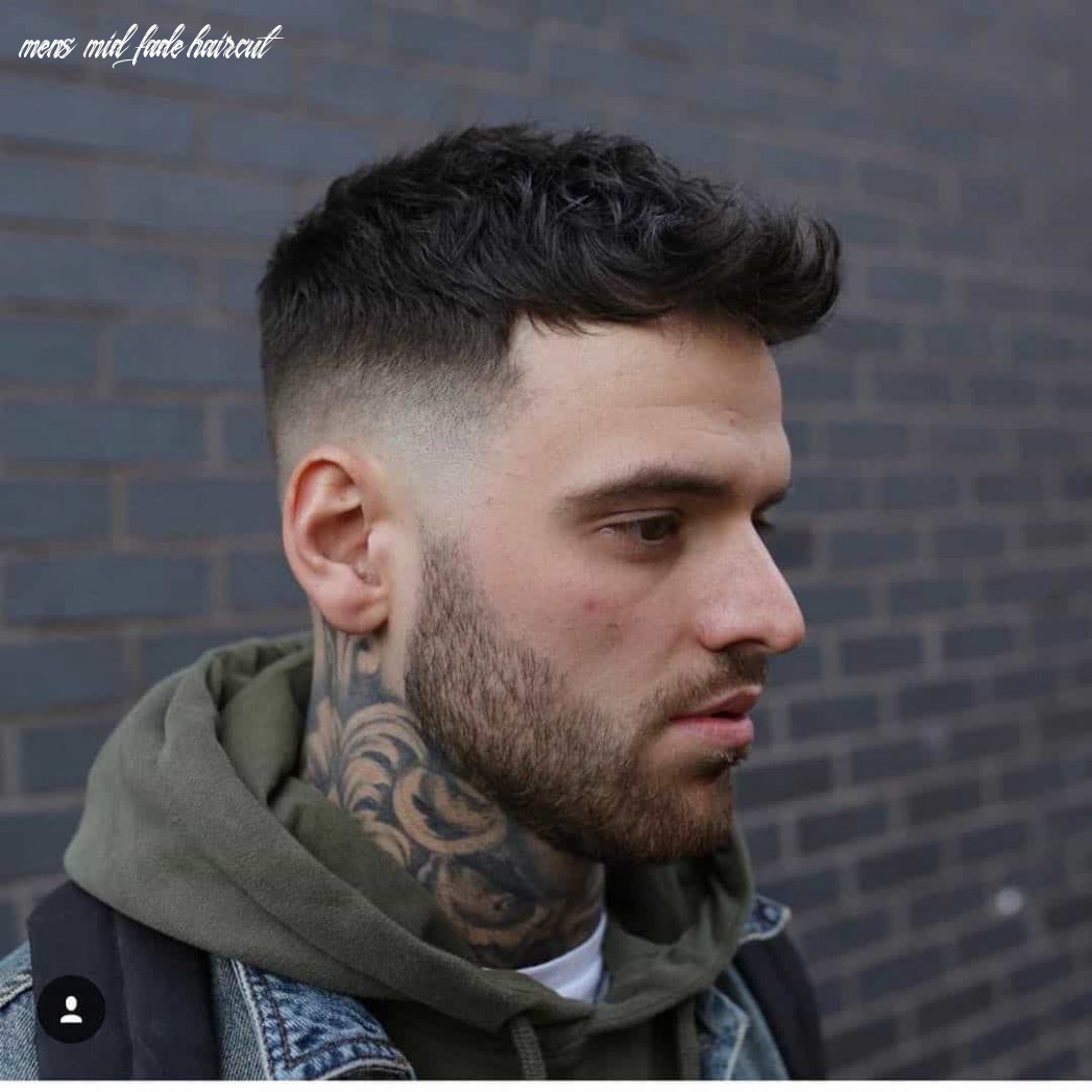 10 Best Mid Fade Haircuts In 10