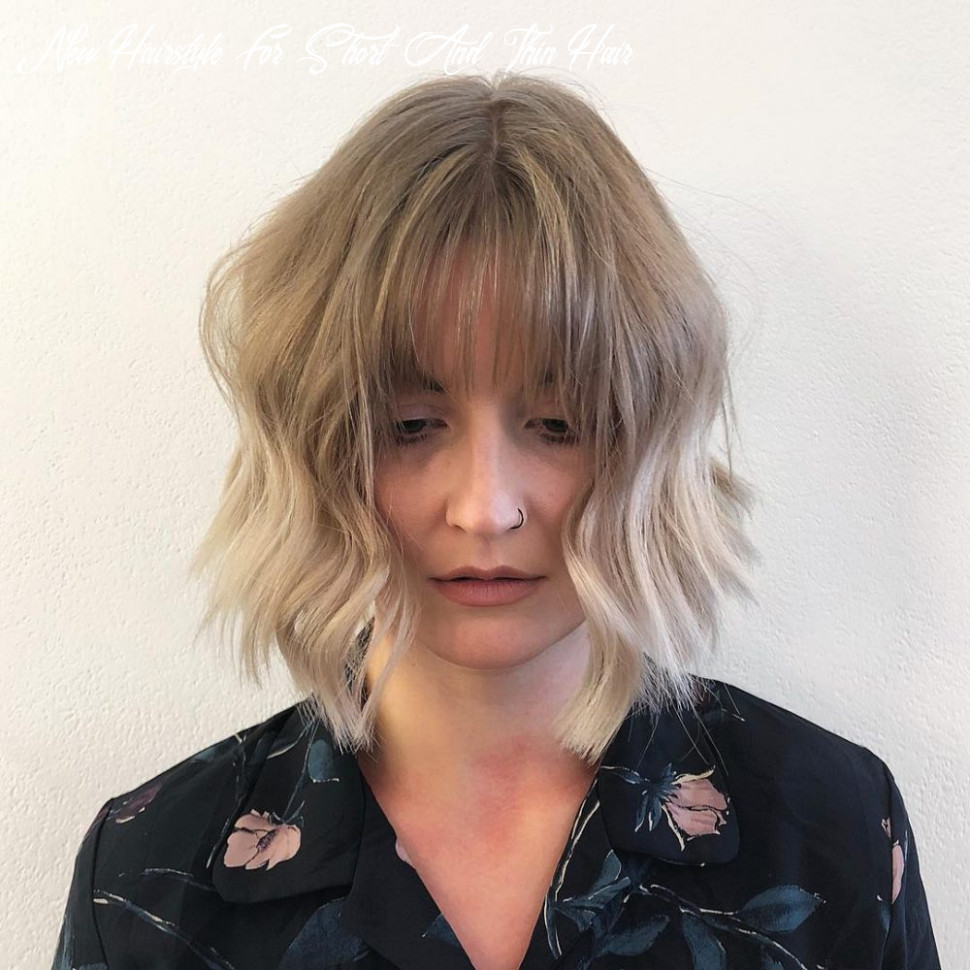 10 Best Short Hairstyles for Thin Hair to Look Cute