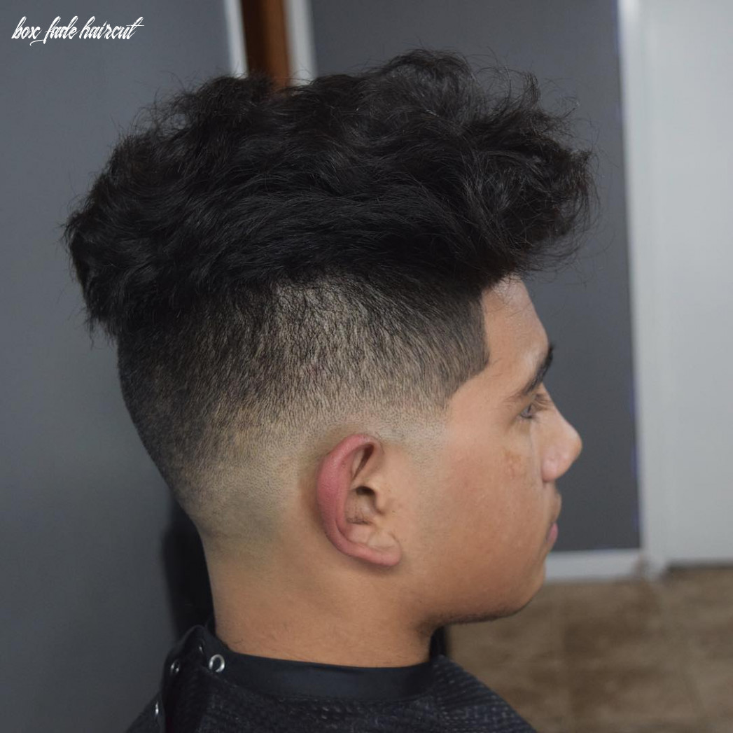 10+ Box Fade Haircut Designs | Hairstyles | Design Trends ...
