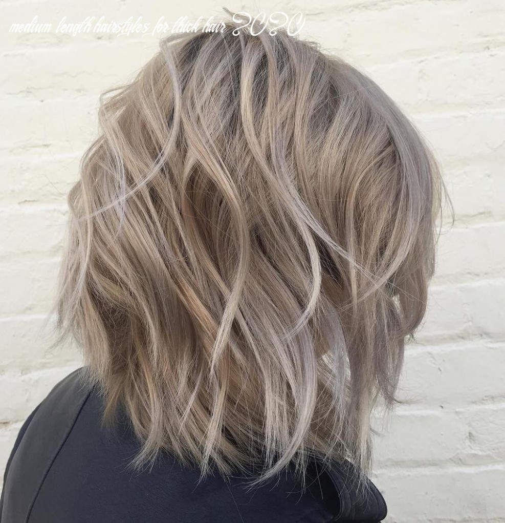 10 brand new medium length haircuts for thick hair to try in 10