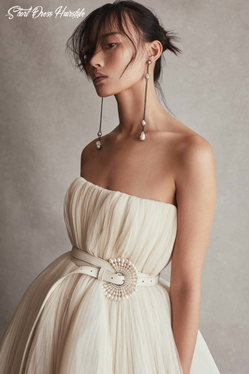 10 chic–and gorgeous–wedding hairstyles for short hair short dress hairstyle