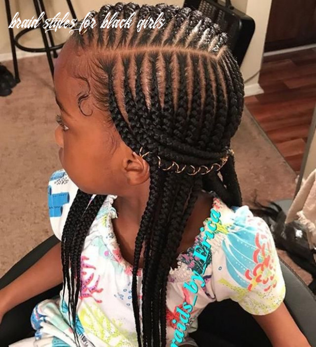 10 chic protective braided hairstyles for women and girls | little