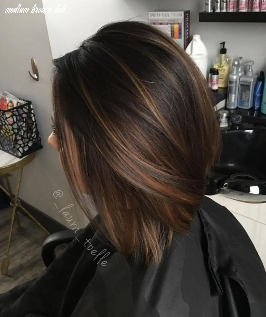 10 chocolate brown hair color ideas for brunettes | brown bob hair