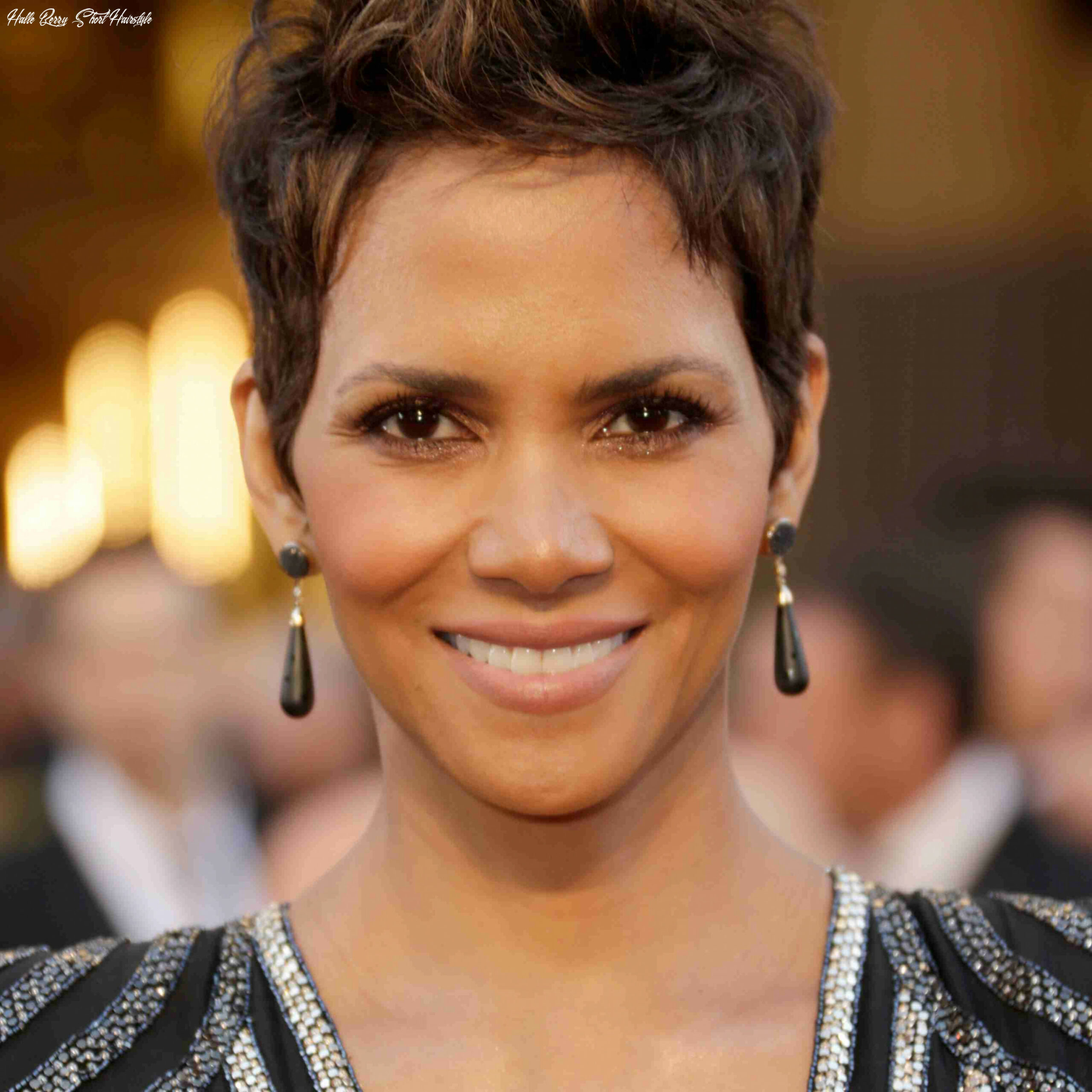 10 classic and cool short hairstyles for older women halle berry short hairstyle