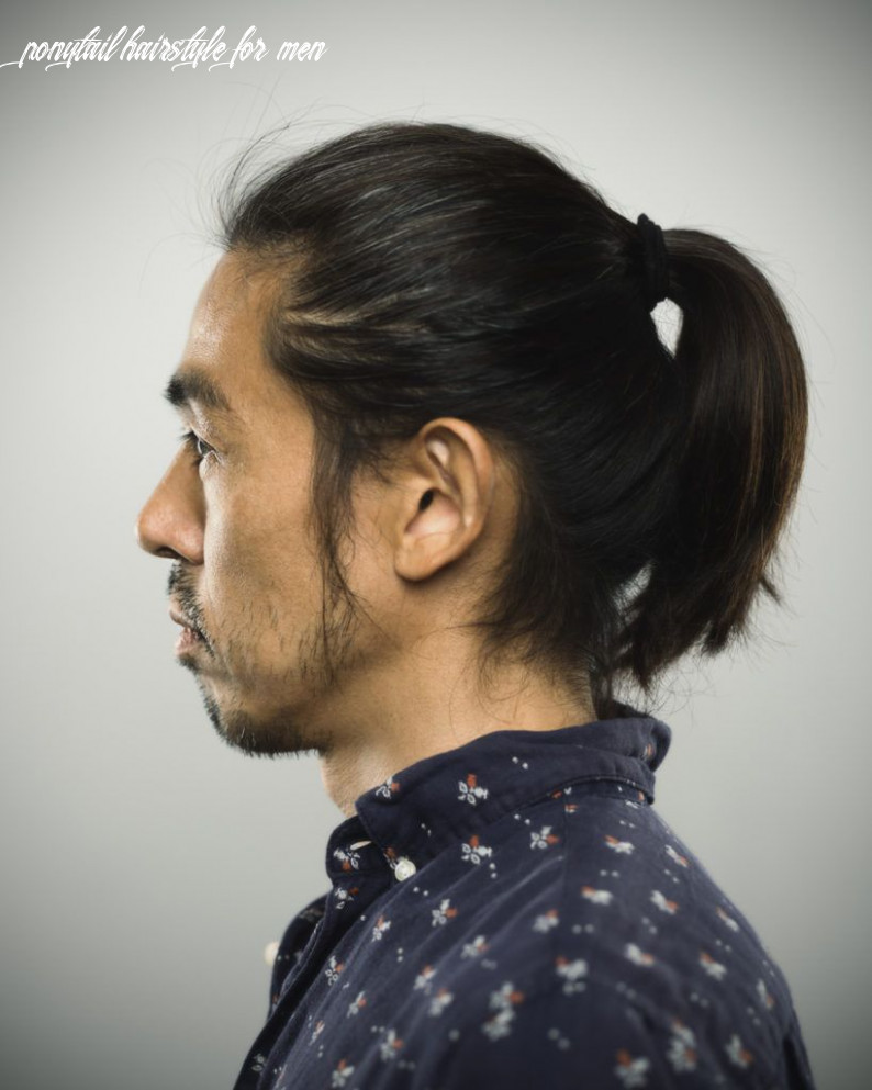 10 cool ponytails for men in 10 ponytail hairstyle for men