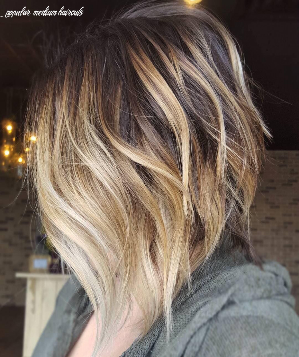 10 cute medium hairstyles with gorgeous color twists   hair hair