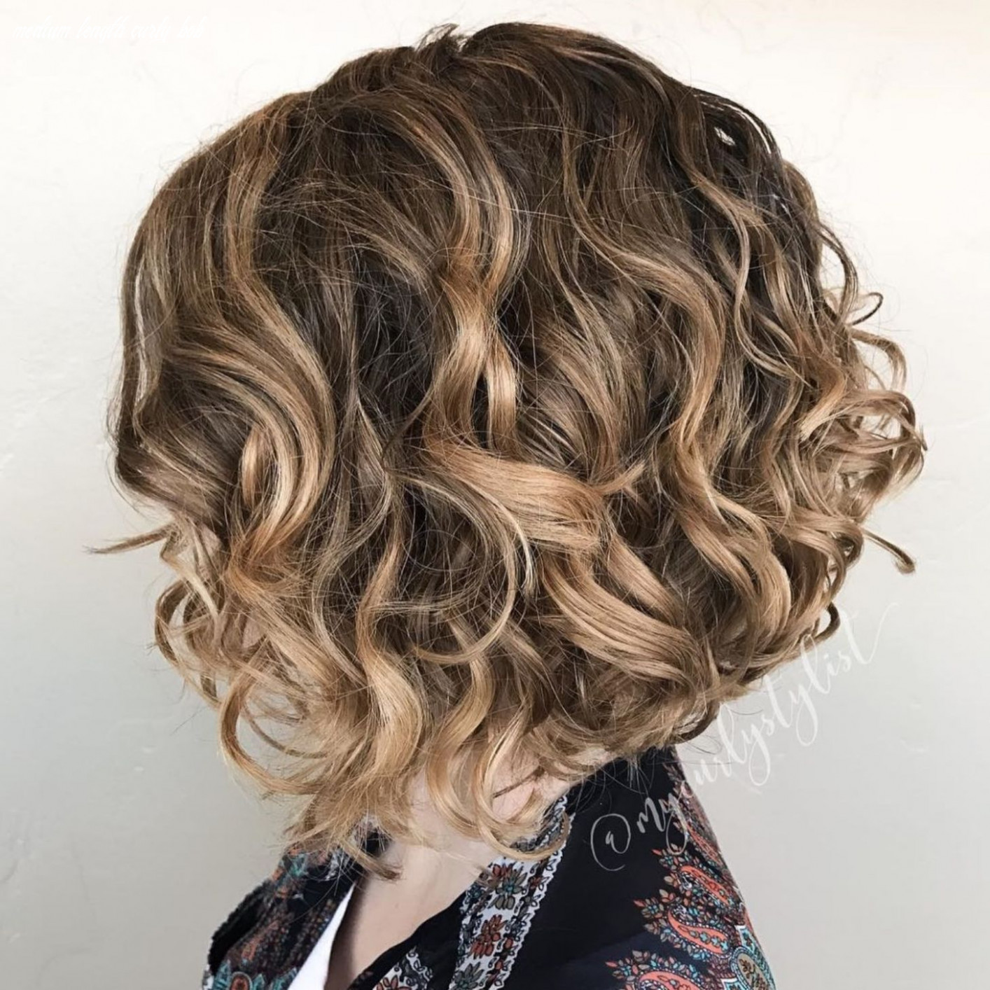10 Different Versions of Curly Bob Hairstyle in 10 | Curly bob ...