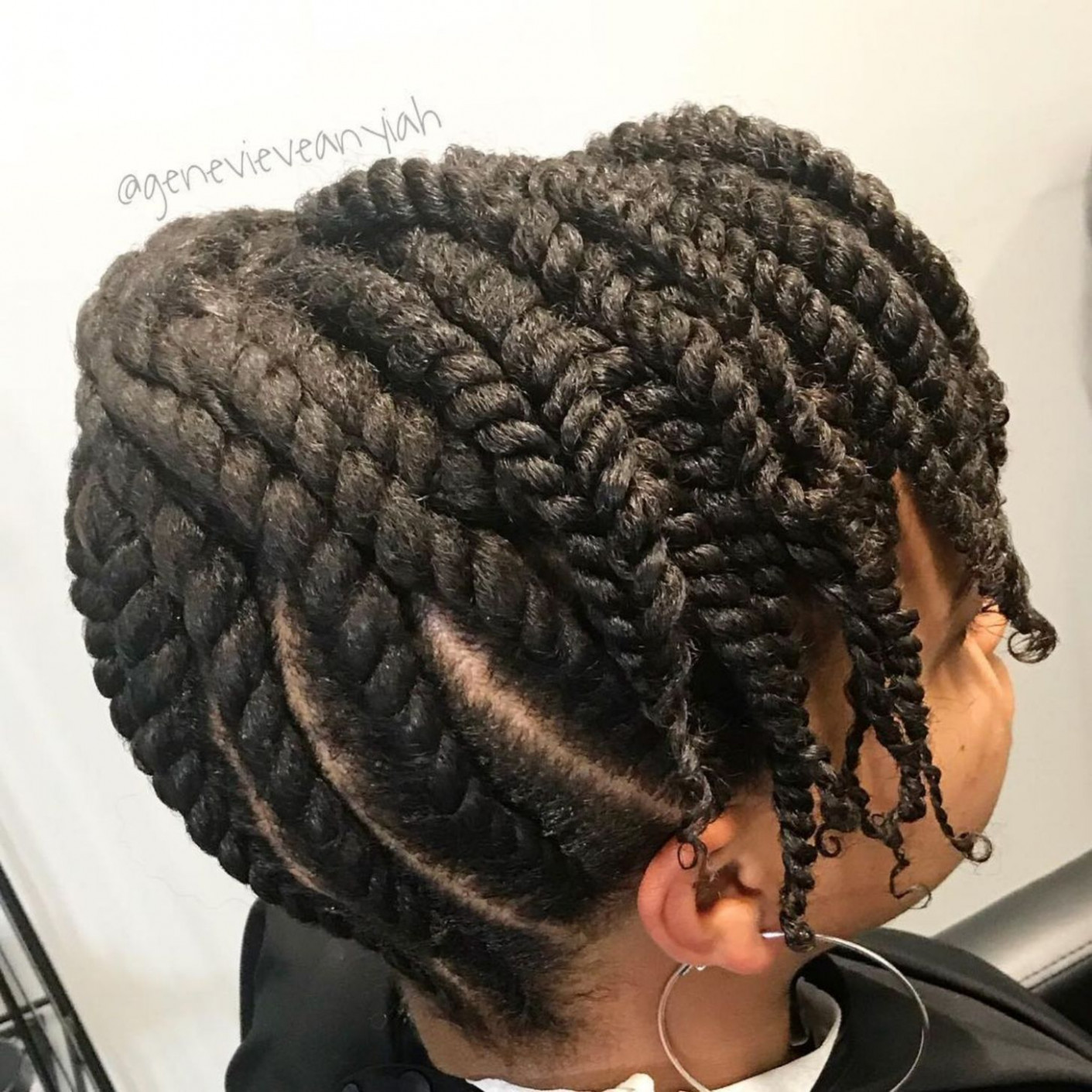 10 easy and showy protective hairstyles for natural hair