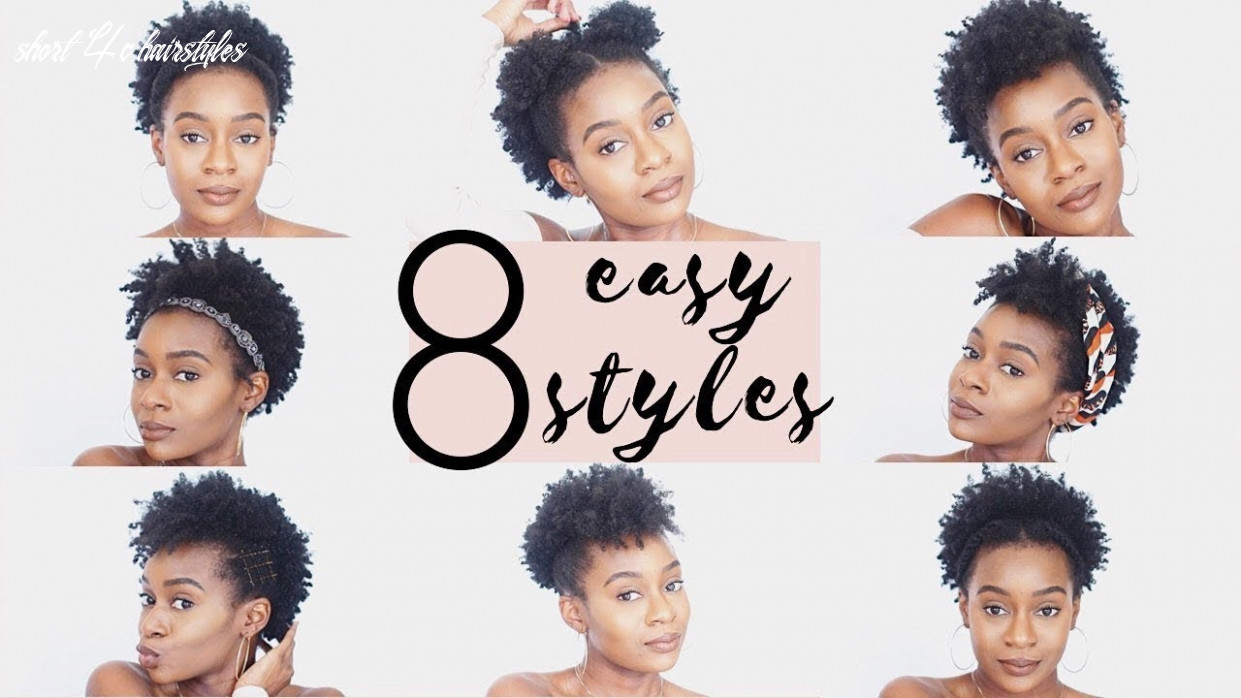 10 easy hairstyles for short 10c natural hair   10c natural hairstyles short 4c hairstyles