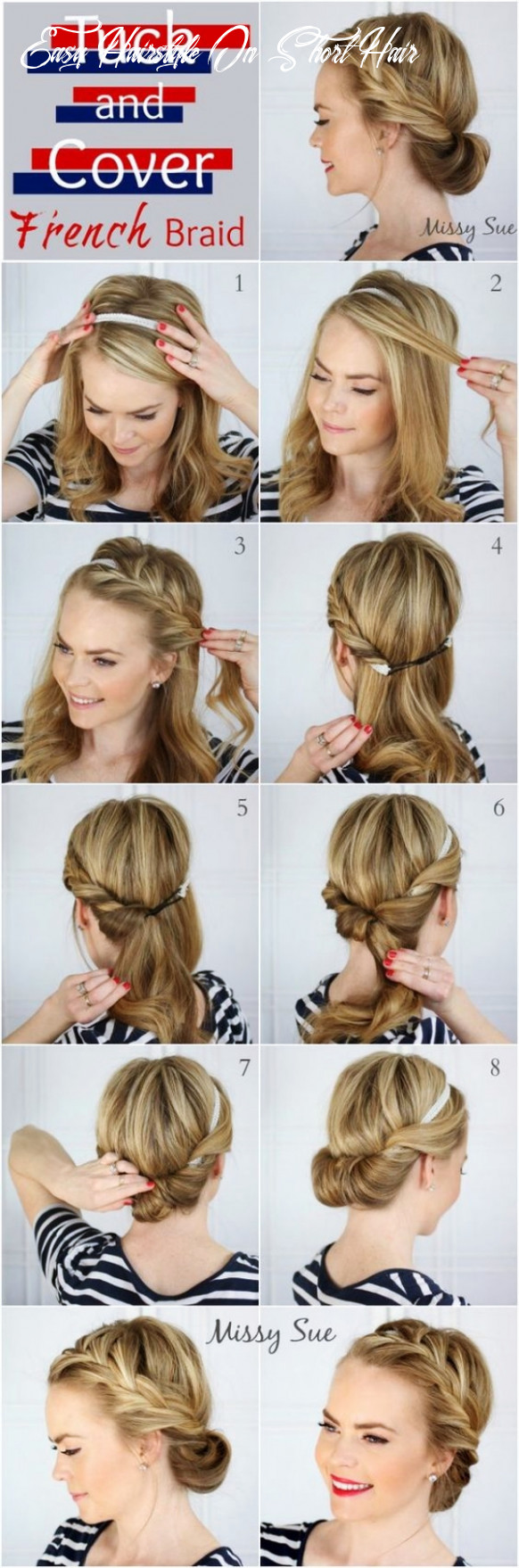 10 Easy Hairstyles (No Haircuts) for Women with Short Hair - How ...