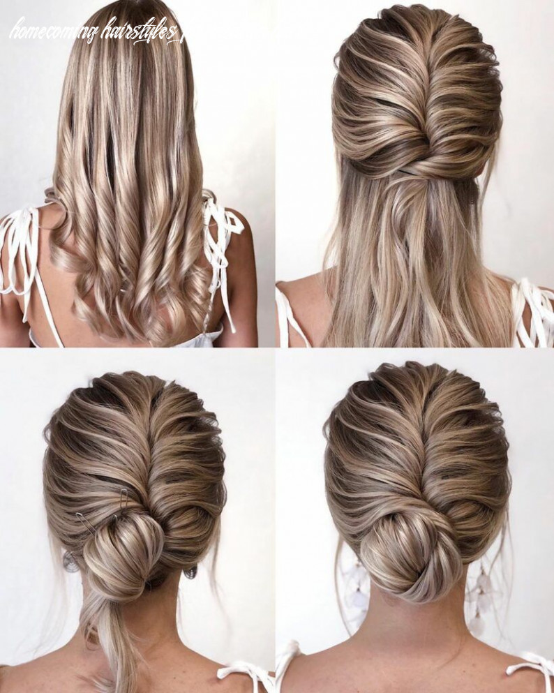 10 easy hairstyles step by step diy | easy homecoming hairstyles