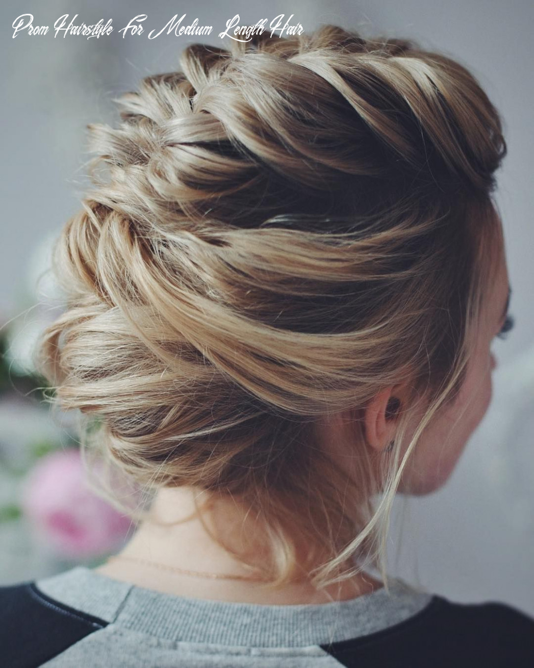10 easy prom hairstyles for short and medium length hair