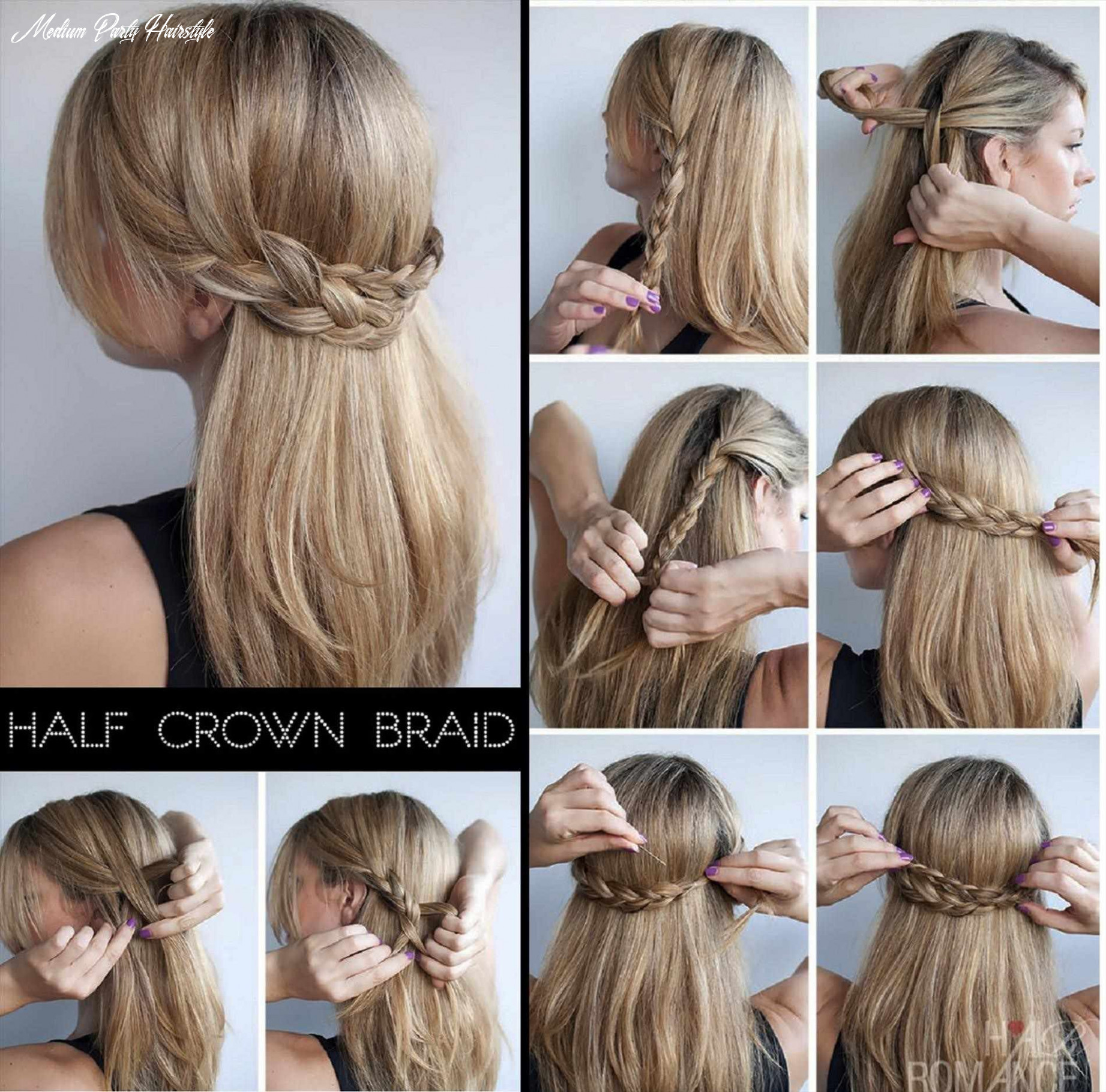 10 easy rules of simple hairstyle for party | cute blonde hair