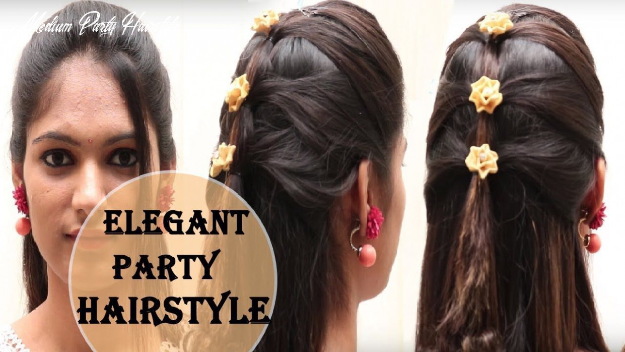 10 easy rules of simple hairstyle for party | medium hair styles
