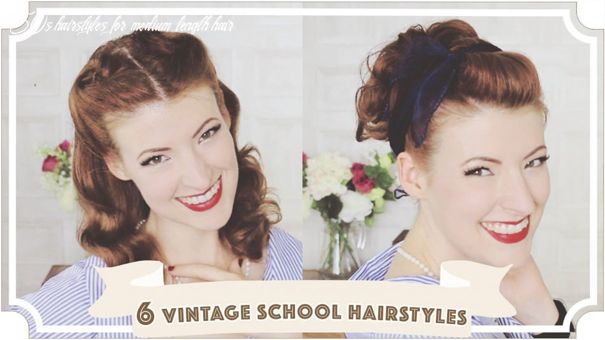 10 easy vintage 10s back to school hairstyles [cc] 50s hairstyles for medium length hair